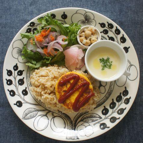 豆腐とあまり野菜のミニオムレツ