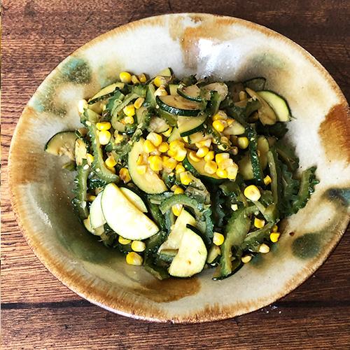 夏野菜のチャンプル