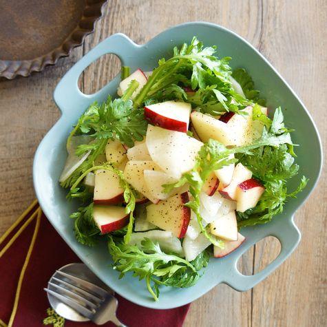 大根と紅玉りんごの亜麻仁油マリネ